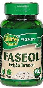 Faseol Feijão Branco 500 mg - 60 cápsulas – Unilife