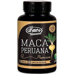 Maca Peruana Premium 550 mg - 120 cáps – Unilife