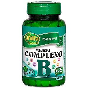Complexo B - 500 mg 60 Cápsulas - Unilife