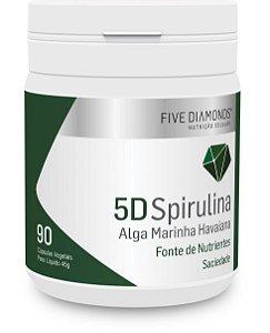 5D Spirulina - 90 cápsulas – Five Diamonds