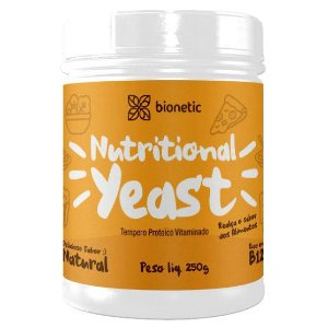 Nutritional Yeast (Levedura Nutricional) Natural 250 g – Bionetic