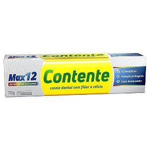 Creme Dental Max 12 Branqueador 70 g – Contente