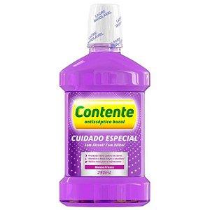 Antisséptico Bucal Cuidado Especial Menta Fresca 250ml – Contente