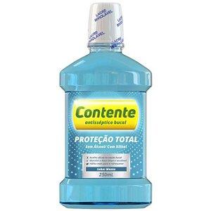 Antisséptico Bucal Proteção Total Menta 250ml – Contente
