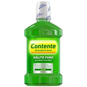 Antisséptico Bucal Hálito Puro Hortelã 250ml – Contente