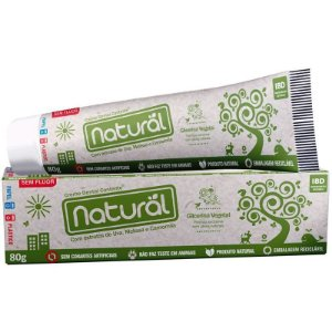 Creme Dental Orgânico e Natural Sem Flúor 80 G – Suavetex