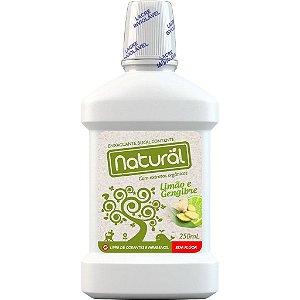 Enxaguante Bucal Natural com Extratos Orgânicos Sem Flúor 250ml