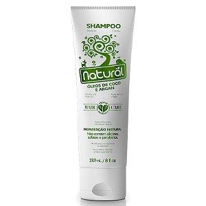 Shampoo Orgânico Natural com Óleo de Coco e Argan – Suavetex