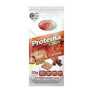 Proteína Chips Canela 20 g – Sora