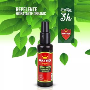 Repelente Hidratante Organic Macadâmia 120 ml – Matrix Oils