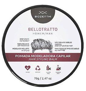 Pomada Capilar Modeladora BelloTratto Man - Biozenthi
