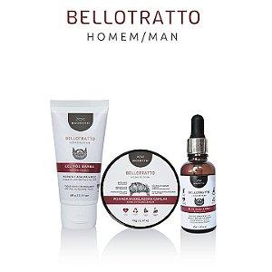 Kit BelloTratto Man Barba e Cabelo - Biozenhti