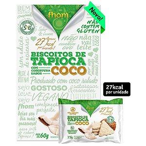 Biscoito de Tapioca e Coco 60 g – Fhom