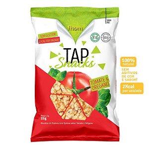 Biscoito Tap Snack Tomate e Orégano - Fhom