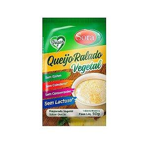 Queijo Vegetal Ralado 50 g - Sora