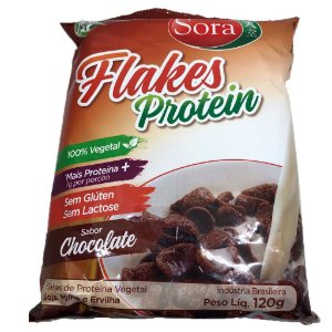 Flakes Protein Chocolate 120g - Sora