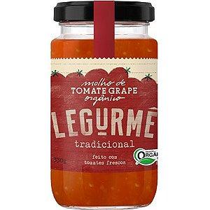 Molho orgânico de Tomate Grape Tradicional - Legurmê