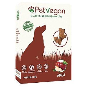 Biscoito Natural Cães PetVegan - Maça