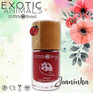 Esmalte Joaninha (Vermelho Pontos de Luz Cremoso) – Surya