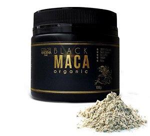 Black Maca Peruana Orgânica em Pó 100g - Color Andina Food