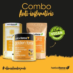 KIT Anti-Inflamatório - Herbal & Yellow Force