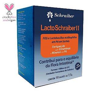 Probiótico Lacto Schraiber 2 - 10 Sachês