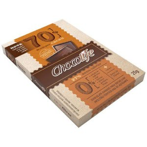 Chocolate 70% Cacau 25 g - Chocolife