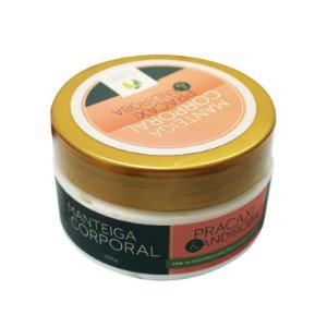 Manteiga Corporal Hidratante Pracaxi e Andiroba Orgânica - Cativa Natureza