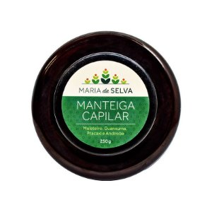 Manteiga Capilar Maria da Selva Orgânica - Cativa Natureza