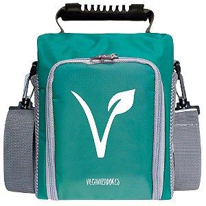 Bag Térmica Verde com Acessórios – Veganizadores