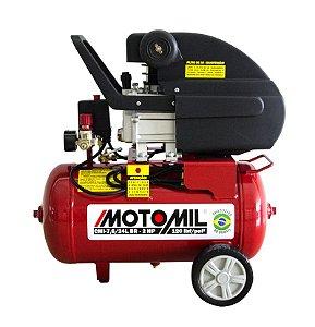 Motocompressor CMI 7,6/24L Motomil