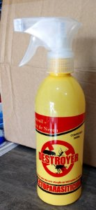 Ecotoparasiticida Destroyer Fipronil + Óleo De Neem - 250ml