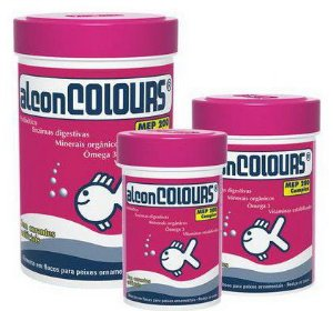 Ração Alcon Colours flocos 10g