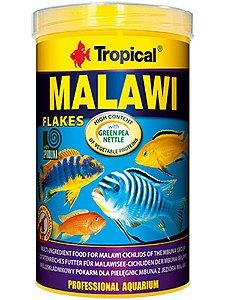 Ração Tropical Malawi Flakes 50g com spirulina