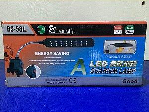 Luminária LED para aquários de 30-50cm RS-58L Bivolt