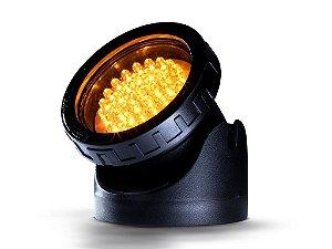 Holofote LED para lagos ornamentais amarelo 127V