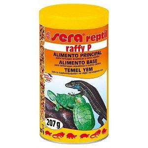 Alimento base para tartarugas aquáticas Sera Reptil Raffy P 207g