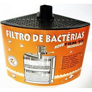 Filtro interno de bactérias (biológico) Zanclus FBM95 para aquários de até 95 litros