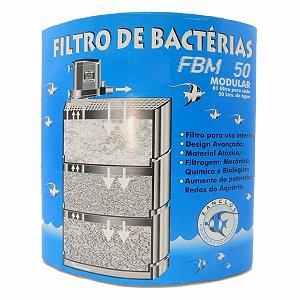 Filtro interno de bactérias (biológico) Zanclus FBM50 para aquários de até 50 litros