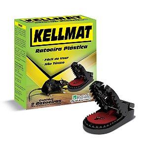Armadilha ratoeira plástica Kellmat com 2 unidades