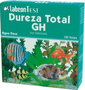 Teste de dureza total GH 100 testes - água doce - Alcon