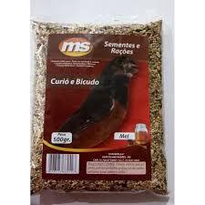 Grão natural para alimentação de Curió e Bicudo - Mistura de sementes 500g