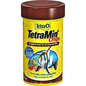 Alimento grãos para peixes tropicais TetraminPro Crisps 22g
