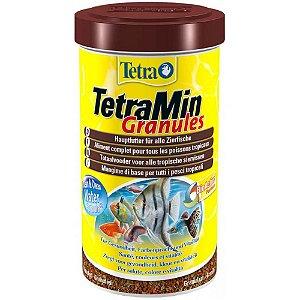 Alimento completo em grãos para peixes tropicais Tetramin Granules 40g
