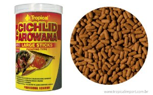 Tropical Cichlid Arowana Large Sticks 75g