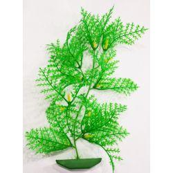 Planta plástica para ornamentação de aquários Alga Crespa Média - Mr Pet - 6193
