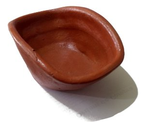 Banheira cerâmica (barro) para pássaros