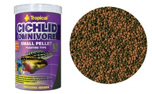 Tropical Cichlid Omnivore Small Pellet - 90g