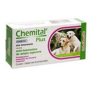Ivermectina Mect Plus 6mg - Cães de 15 a 30kg Com 4 Comprimidos