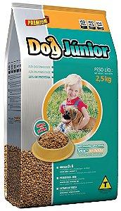 Alimento Premium para cães Dog Junior sabor carne 2,5kg